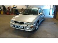 Subaru Impreza Sport 4 wheel drive estate