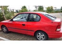 Hyundai Accent - Low Mileage 42,000 - Well Maintained - MOT valid May 2017 - Quick Sale