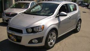2014 Chevrolet Sonic LT WITH MOONROOF