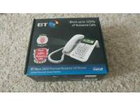 BT Telephone: Decor 2600 Premium Nuisance Call Blocker