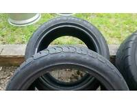 Federal SS 595 tyres - 255/40/17 - loads of tread - pair