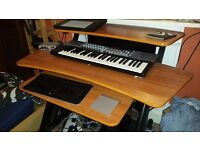 Studio Workstation Desk - Quick lok Z260