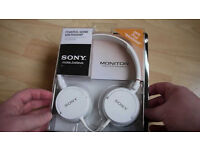 Original Sony MDR-ZX100W Brand new. Sealed in the box