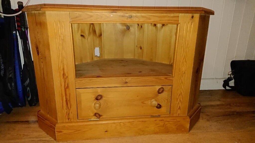 Antique Pine TV Cabinet - Antique Pine TV Cabinet In Grange Park, Wiltshire Gumtree
