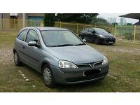Vauxhall Corsa 1.2 2003 74k