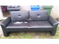 Sofa Bed available for collection for free