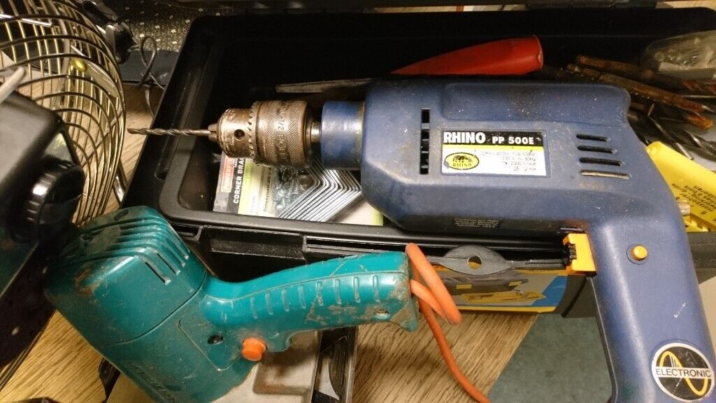 Drill and sander with free bits and attachments | in Shepherds Bush, London  | Gumtree
