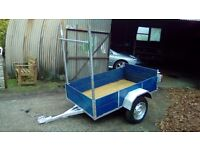 6x4 trailer with ladder rack