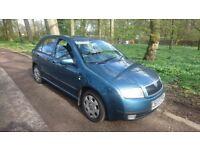 1.2 skoda fabia, petrol manual, test untill november ideal first car only £595ono