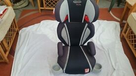 SOLD Graco Child Car Seat (extra padded) suit 3-12 years (15-36 kg) Side impact protection £15