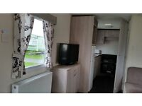 2014 DOUBLE GLAZED CENTRAL HEATED CARAVAN AT SOTHERNESS