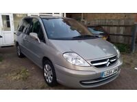 CITROEN C8 AUTOMATIC PETROL GOOD RUNNER VERY ECONOMIC MOT DEC 2016 READY TO DRIVE