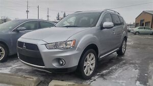 2010 Mitsubishi Outlander XLS S-AWD LEATHER ROCKFORD SOUND SYSTE