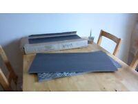 2 square metres of Dark Brown Matt Ceramic Vitra Floor tiles