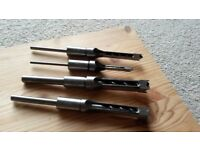 Woodworking morticer chisels