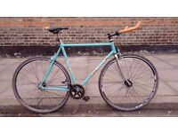 Fast and lightweight Andre bertin Track bike Columbus Steel Frame