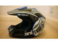 As new Animal motocross helmet size S