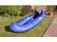 Sevylor Rio one man inflatable canoe for sale (Blue)