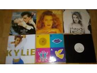 55 x kylie vinyl collection picture discs / promo / tour programme
