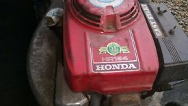 Honda petrol lawnmower for sale