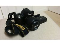 Nikon D40, very good working condition DSLR Camera