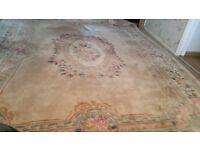Oriental Pure new wool carpet rug 366CM (L) x 274CM (w)