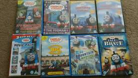 Thomas and friends dvd's x10