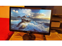 Philips 21.5'' Monitor FullHD 1920x1080 HDMI/VGA Built-in Speakers AudioJack/Microphone