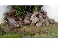 Rocks for Rockery or Rubble COLLECTION ONLY