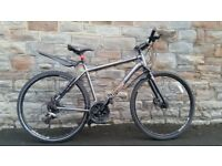 FULLY SERVICED VOODOO MARASA HIBRID WITH HYDRAULIC DISC BRAKES BICYCLE