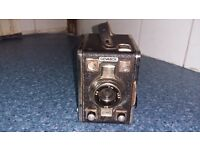 Gevabox 1950's camera with original booklet