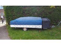 Colman cantenbury trailer tent