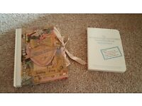 Wedding diary and book