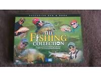 THE COMPLETE FISHING COLLECTION DVD AND BOOK BRAND NEW