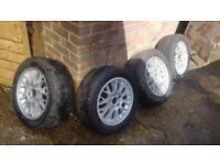 Bmw 16 alloy wheels