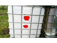 Horse water storage tank ibc 1000 liter