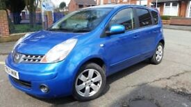 Nissan NOTE, automatic, service history