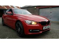 (Melbourne Red) Sep 2012 BMW 320d Sport 184bhp! Full Leather! New 19 Inch M Performance Wheels & Kit