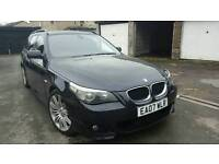 2007 BMW 520D M SPORT TOURING FULL SERVICE HISTORY EXCELLENT CONDITION DRIVE SUPERB HPI CLEAR