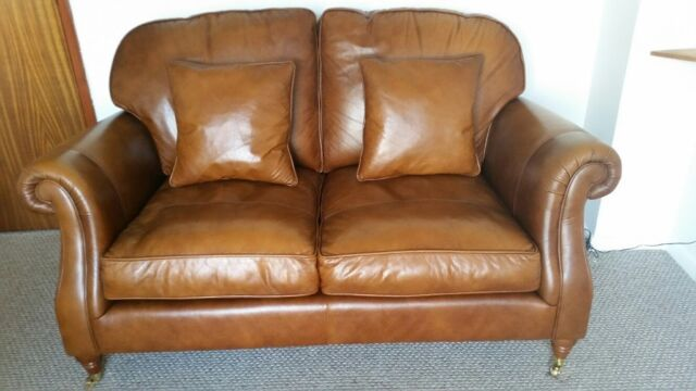 Parker Knoll Westbury Real Leather Sofa Excellent Condition Beautiful Styling In Lowestoft Suffolk Gumtree