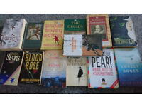2 bags of various books