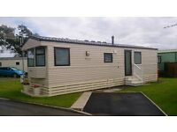 LOVELY STATIC CARAVAN ON QUIET COASTAL PARK. 12MTH SEASON, PET FRIENDLY, ONLY ONE PREVIOUS OWNER.