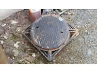 5 600mm cast iron manhole covers