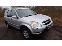 **Honda Cr-V 4x4**YEARS MOT**FULL UP TO DATE HISTORY**4 NEW TYRES & NEW BRAKES ALL ROUND**