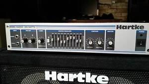 Hartke HA 2500 Bass Amplifier Head & Hartke 410XL Speaker Cabinet Newcastle Newcastle Area Preview