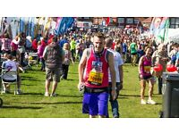Charity village volunteers needed at the Great North Run!