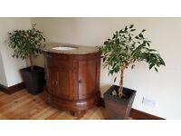 Free Standing Vanity Unit with Granite Worktop