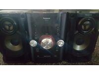 Panasonic SA-AKX12 stereo system