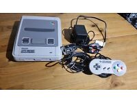 Super Nintendo Complete with leads and controller