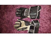 frank thomas winter motorbike gloves mens large